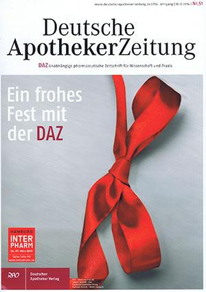 Lotos Innenarchitektur - Sabine Weber - Artikel in der Deutschen Apothekerzeitung