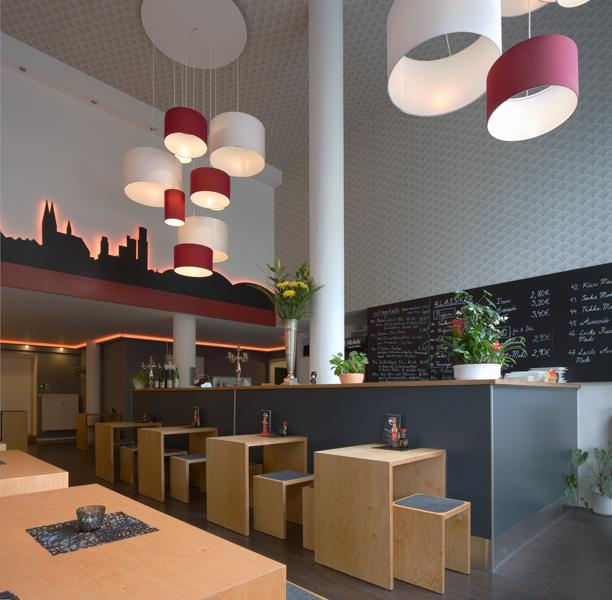 raumgestaltung eines restaurants in k ln lotos